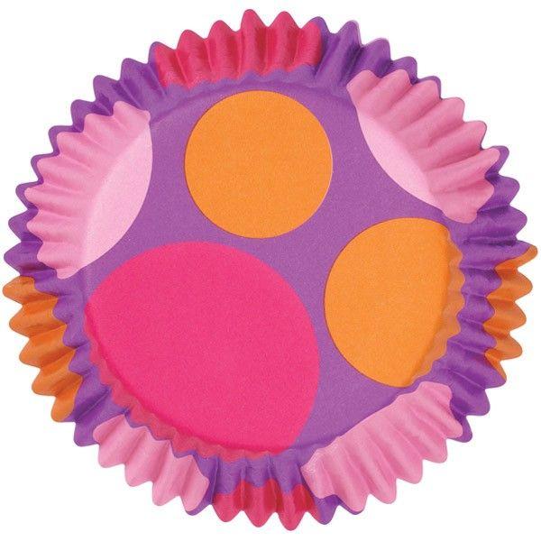 Capacillo con puntos rosas y naranjas 415-0483 $57.88