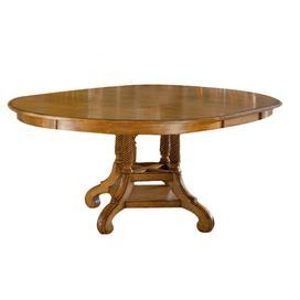 New Zealand Pine Dining Table With A Hand Rubbed Finish And Spiraled Column Details Comes With An Dining Table Dining Table In Kitchen Dining Table Dimensions