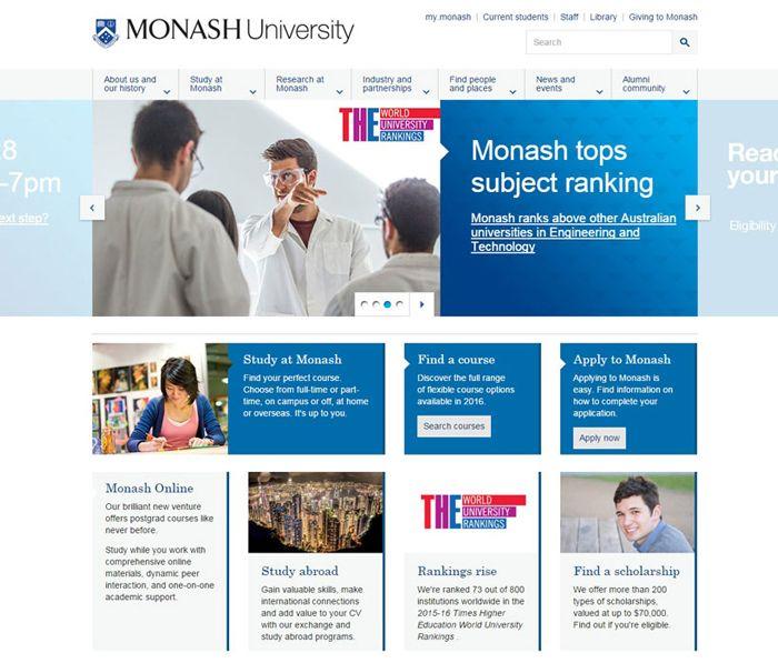 30 University And College Websites Inspiration Designyep Colleges And Universities University University Website