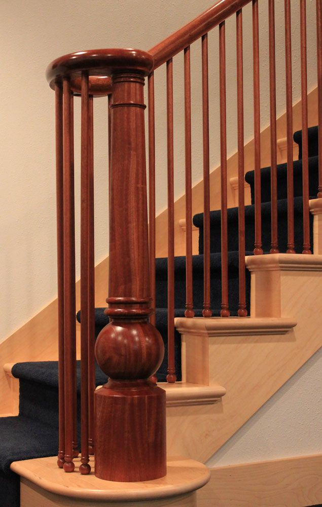 Wood Stair Handrail And More Stair Parts Direct From The Manufacturer