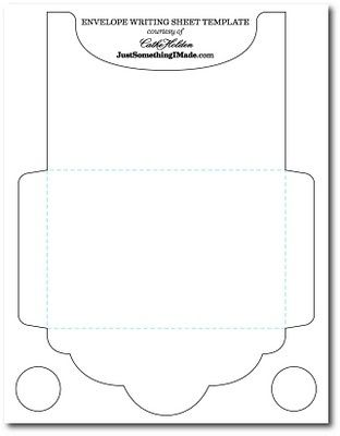 Envelope Templates By Myrna  Ajndkkisrk
