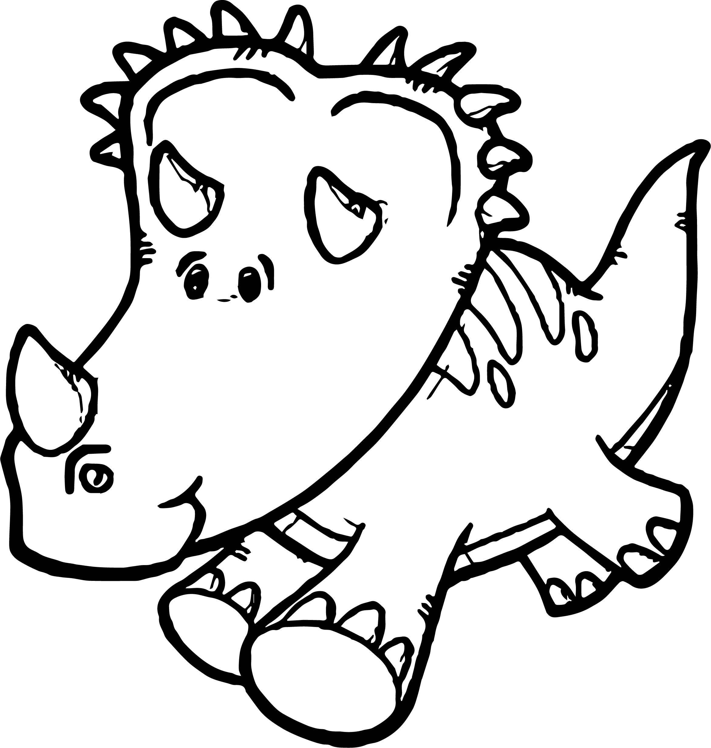 Cool Dinosaur Run Coloring Page Coloring Pages Dinosaur Color