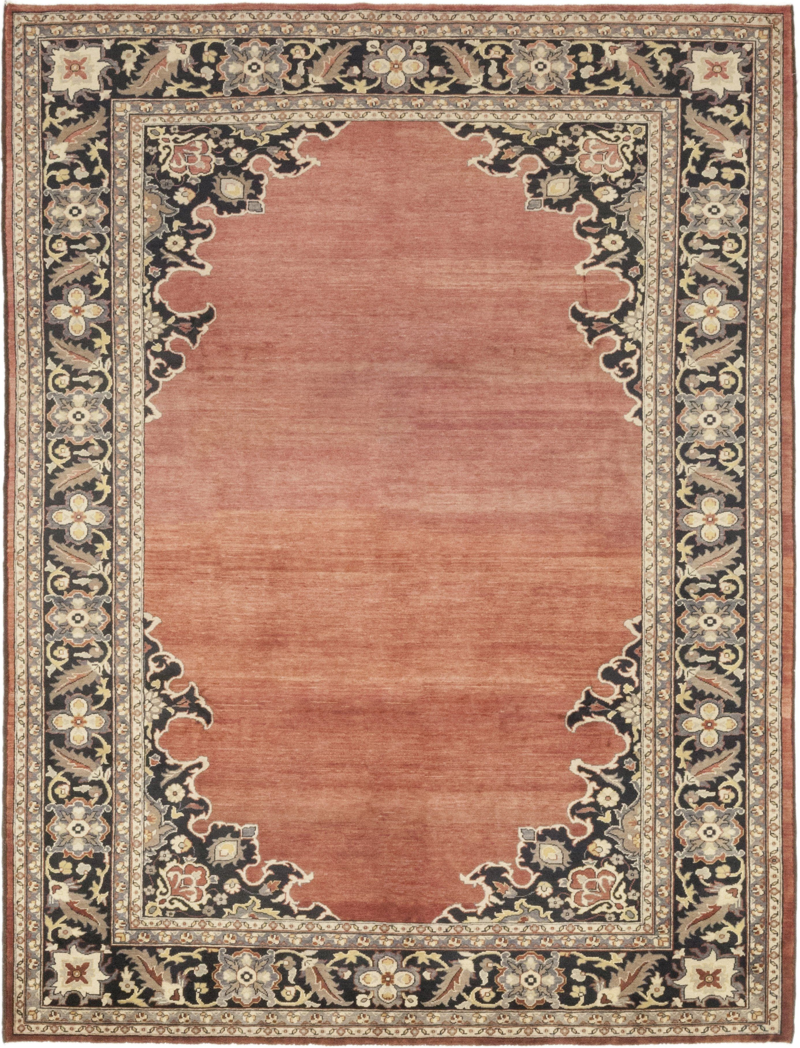 Gabbeh Hand Knotted Area Rug 8 7 X 11 3 Solo Rugs Area