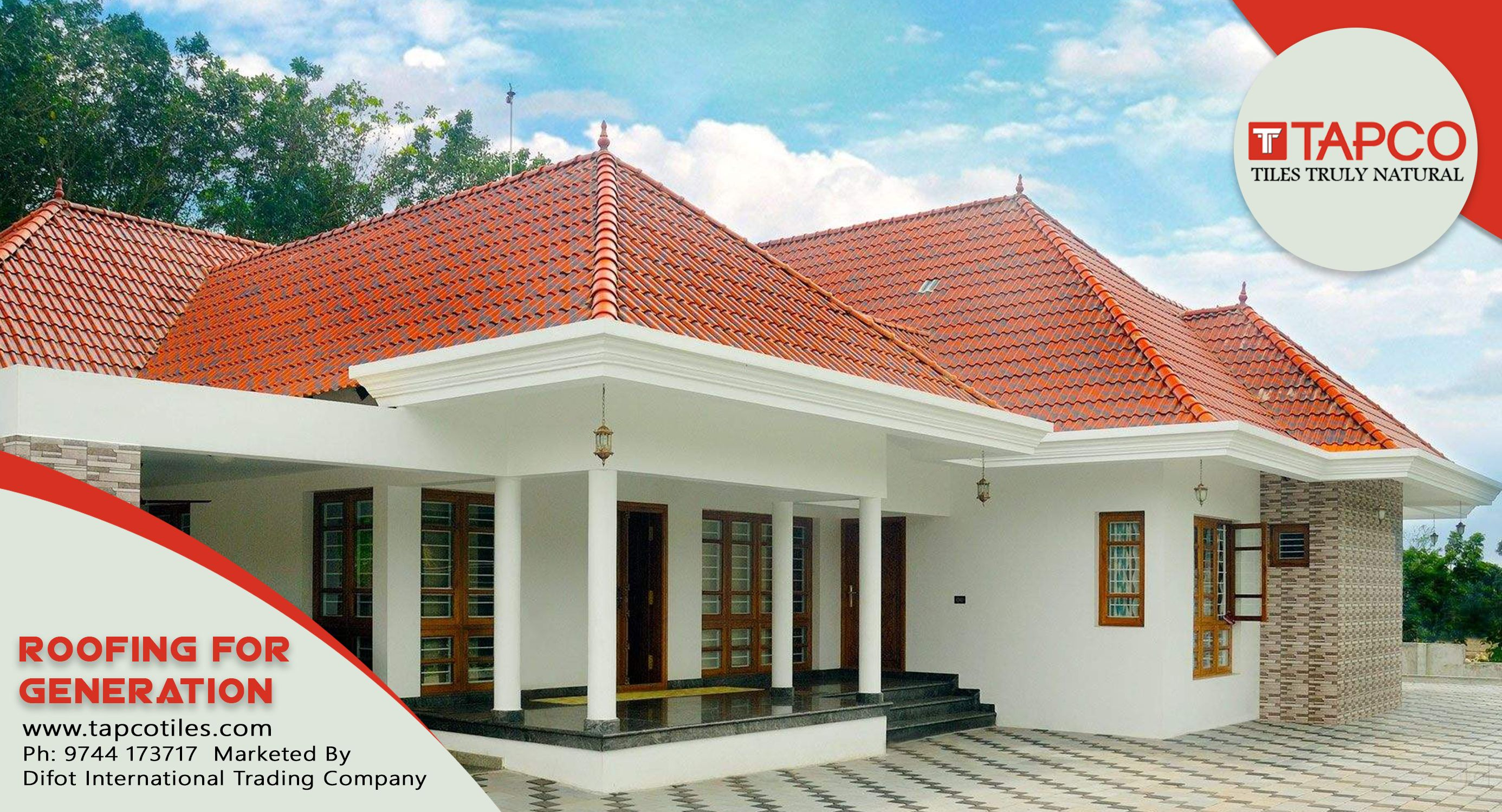 Roof Tiles In Thrissur Ceramic Roof Tiles Cool Roof Roofing