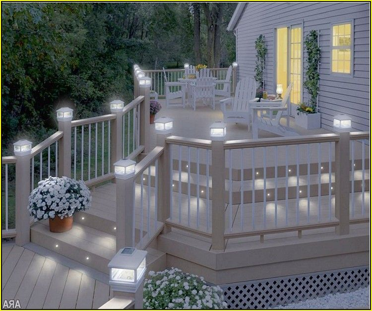 Solar Decking Lights Homebase | Decks | Pinterest