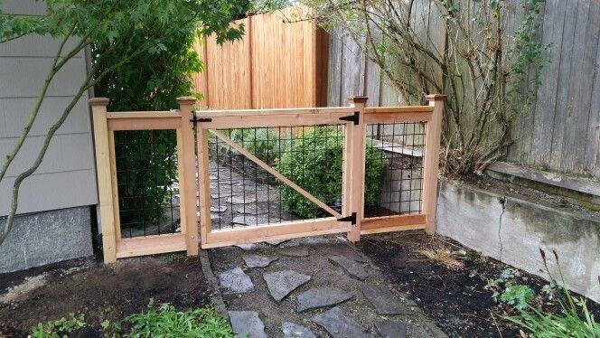 Hog Wire Gate Cloture Pour Chien Cloture Jardin Amenagement
