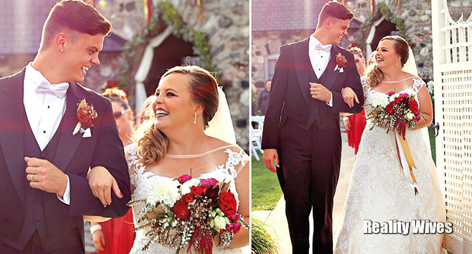 Catelynn Lowell And Tyler Baltierra Wed See Her Dress Wedding Dresses Lace Wedding Wedding Dresses
