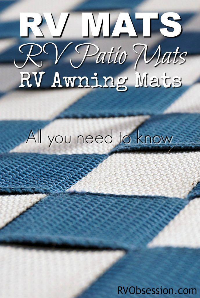 RV Mats   RV Patio Mats   RV Awning Mats in 2020   Rv ...