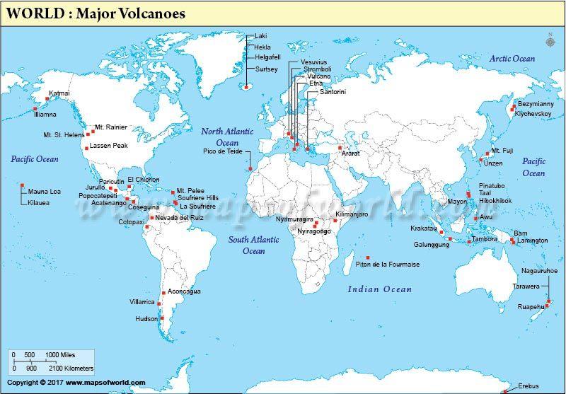 World Map Of Volcanoes A brave new world Pinterest Volcano - fresh world map quiz practice