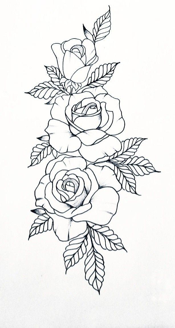 Pin by Fraulinne Ngeni on Татуировки   Tattoo stencil outline, Floral tattoo sleeve, Tattoo stencils