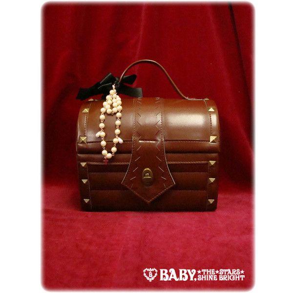 Treasure Box Pochette ❤ liked on Polyvore