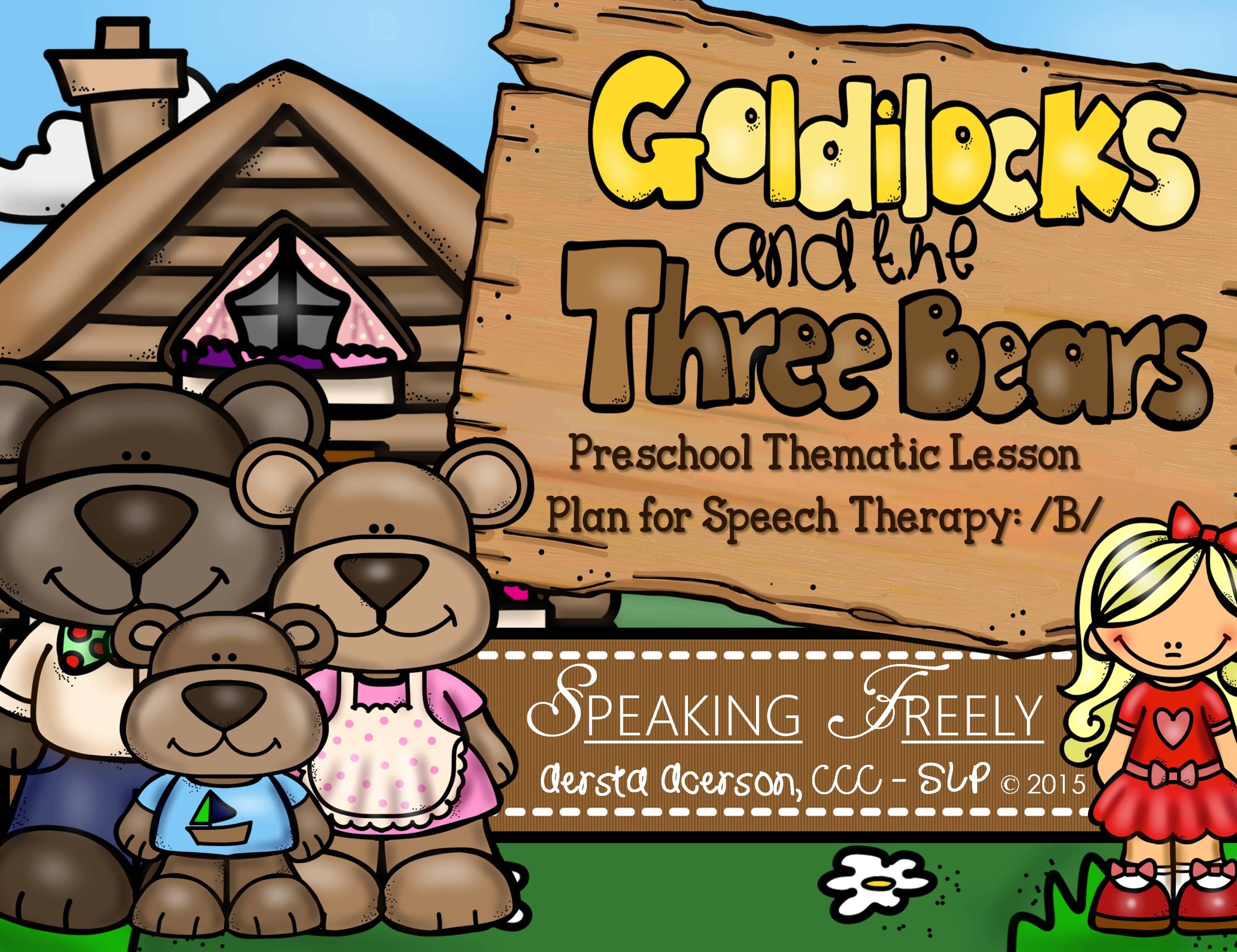 Preschool Language Lesson Plan For Speech Therapy