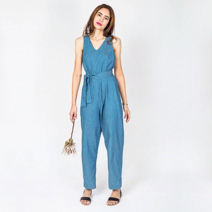 Damenkleid mit rückwärtiger Knopfleiste | Für damen, Nähe und Damen