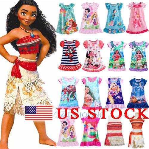 Fashion designing dresses girls 2018 disney