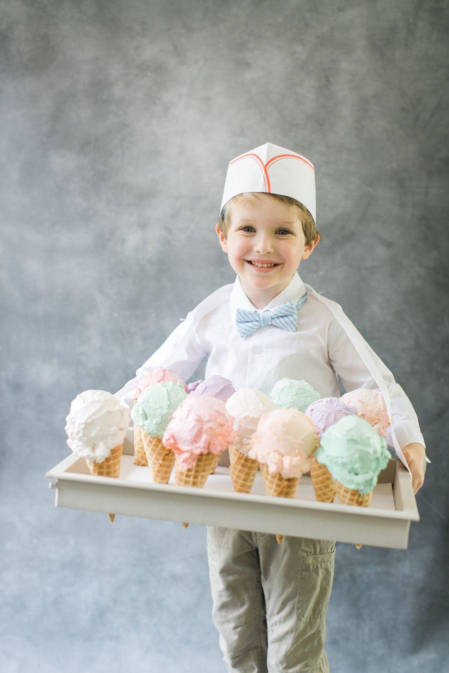 DIY Halloween Costume: Ice Cream Man | Men photography ...  DIY Halloween C...