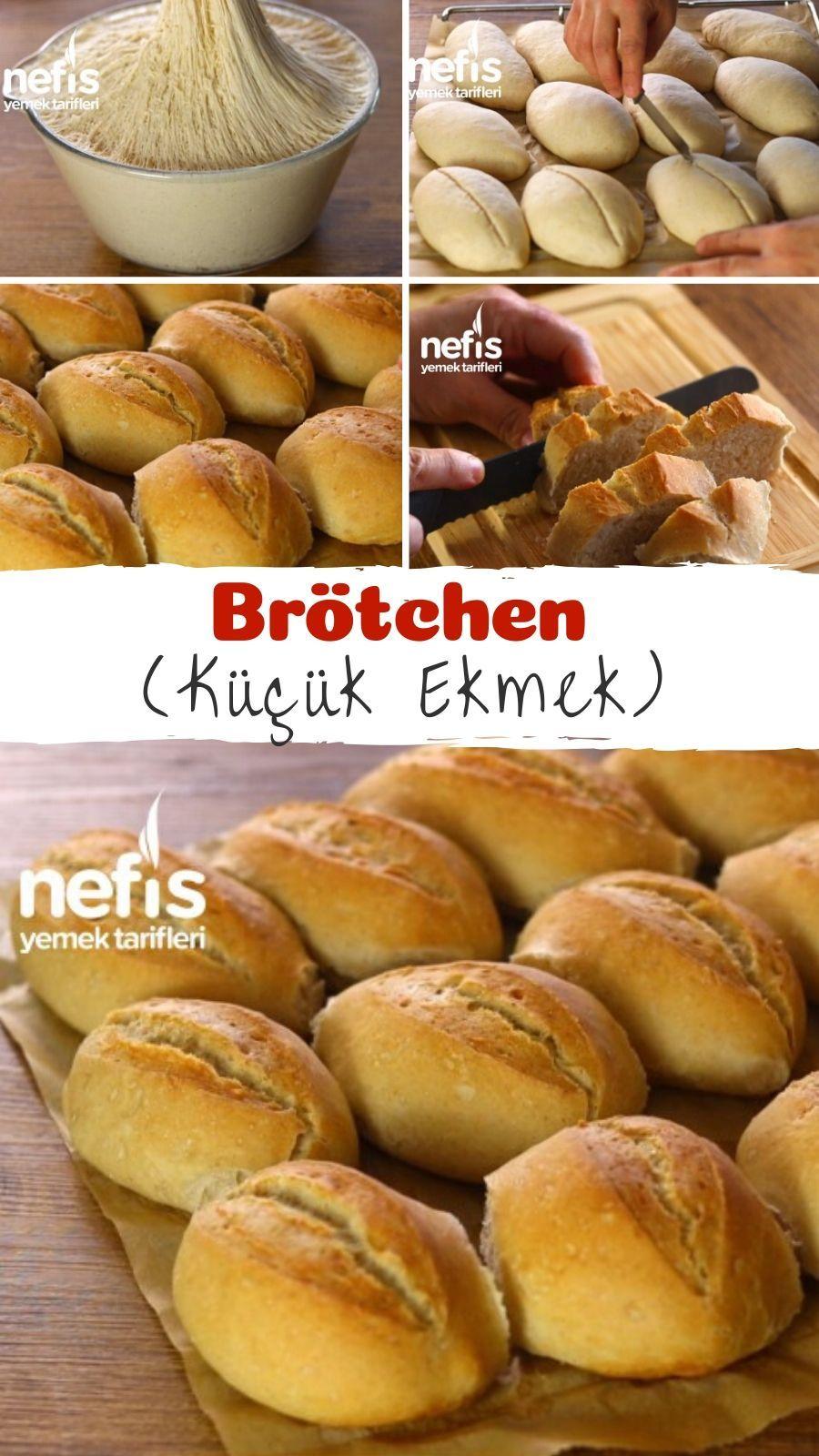 Brötchen (Küçük Ekmek) - Nefis Yemek Tarifleri - - #birthdaycelebration #b...