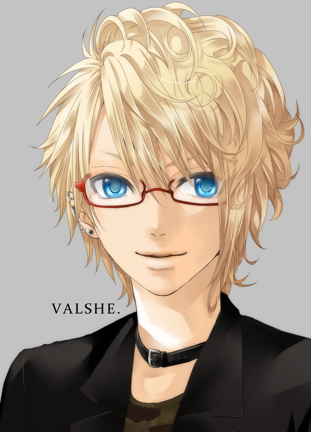 Valshe From Vocaloid Anime Guys With Glasses Anime Guys Shirtless Anime Guys