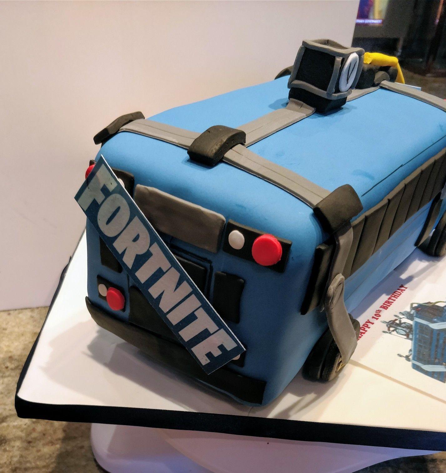 Fortnite Truck Battle Royale Cake I Made