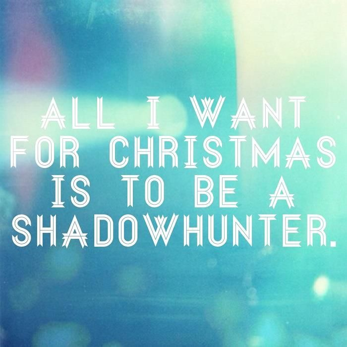 this is all want! honestly is it to much to ask to be a holy ninga that protects the world from evil ducks? only shadowhunters will understand