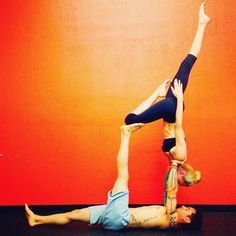 acroyoga side star  google search  partner yoga