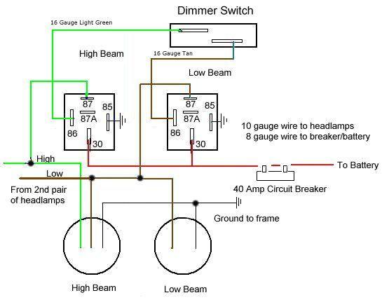 Headlight Upgrade 82 Cm450e Headlight Upgrade Electrical Circuit Diagram Electrical Wiring Diagram
