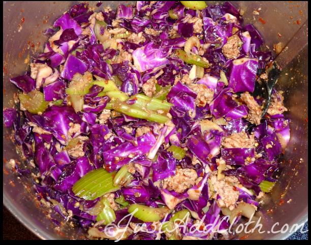 Red Cabbage Crack Slaw {Recipe}