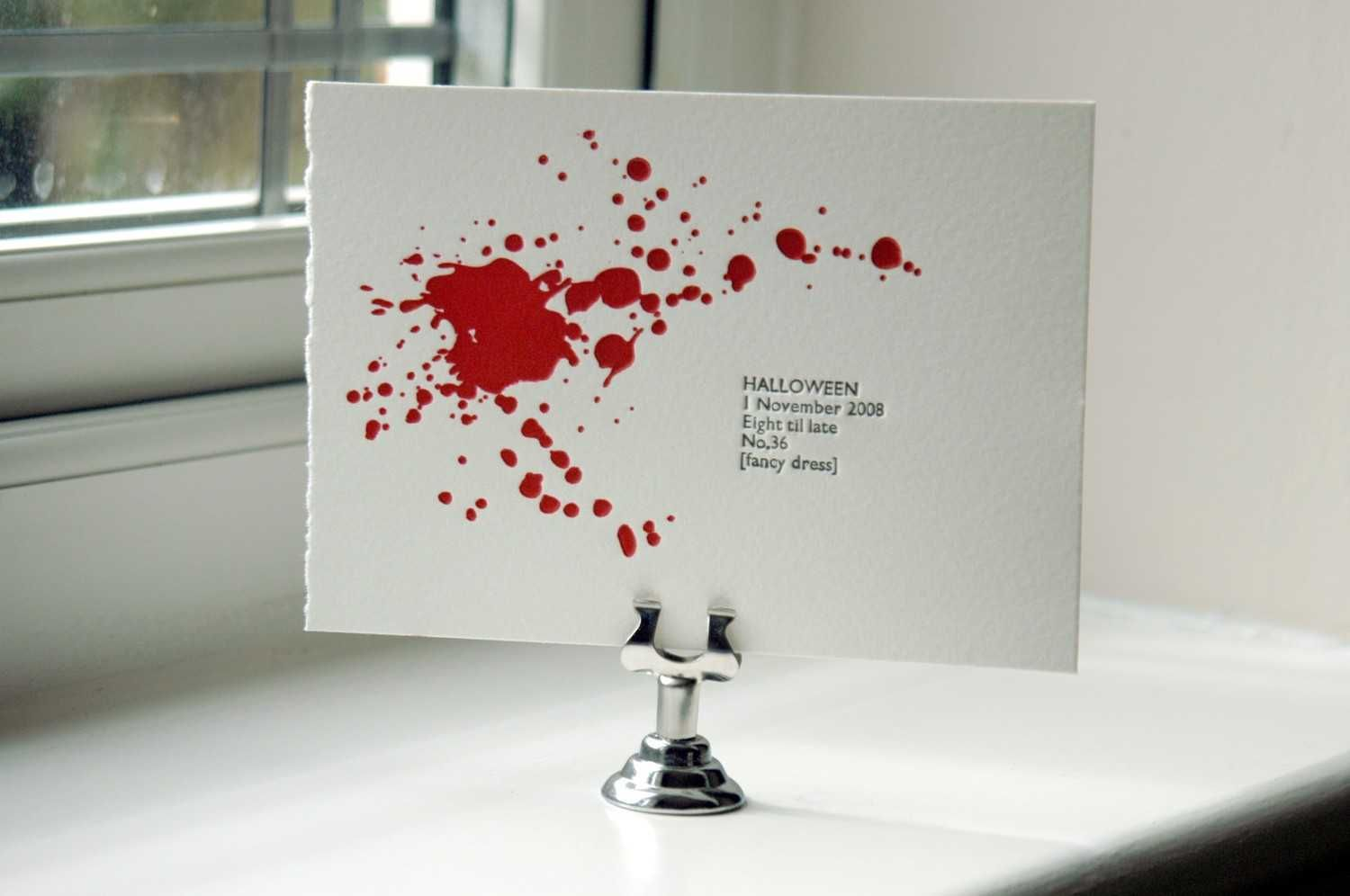 Love this invite too!! Maybe use this for our Dexter Premier Party ...