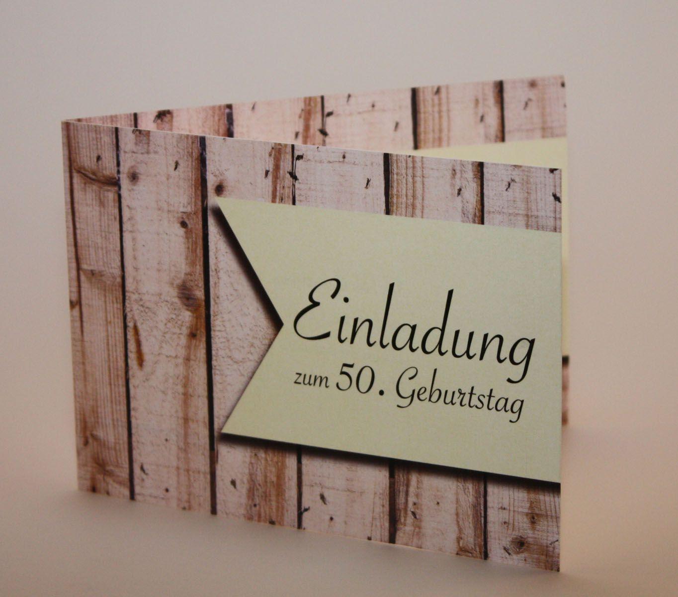 Einladungskarten Geburtstag Einladungskarten Geburtstag 50