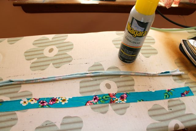 Tip: Spray Starch to Tame Curly Knits | Gorgeous Fabrics' Blog