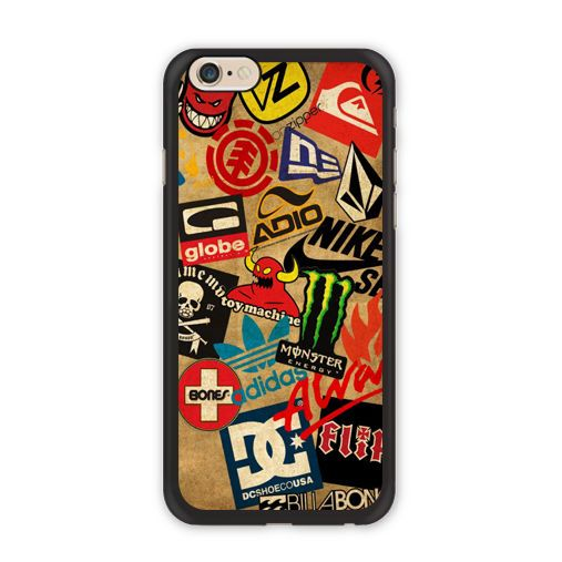 coque iphone x stickerbomb