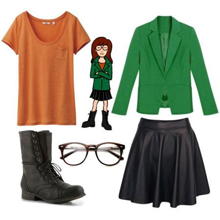 10 Easy and Cute Outfit Ideas Inspired By Daria Characters ...
