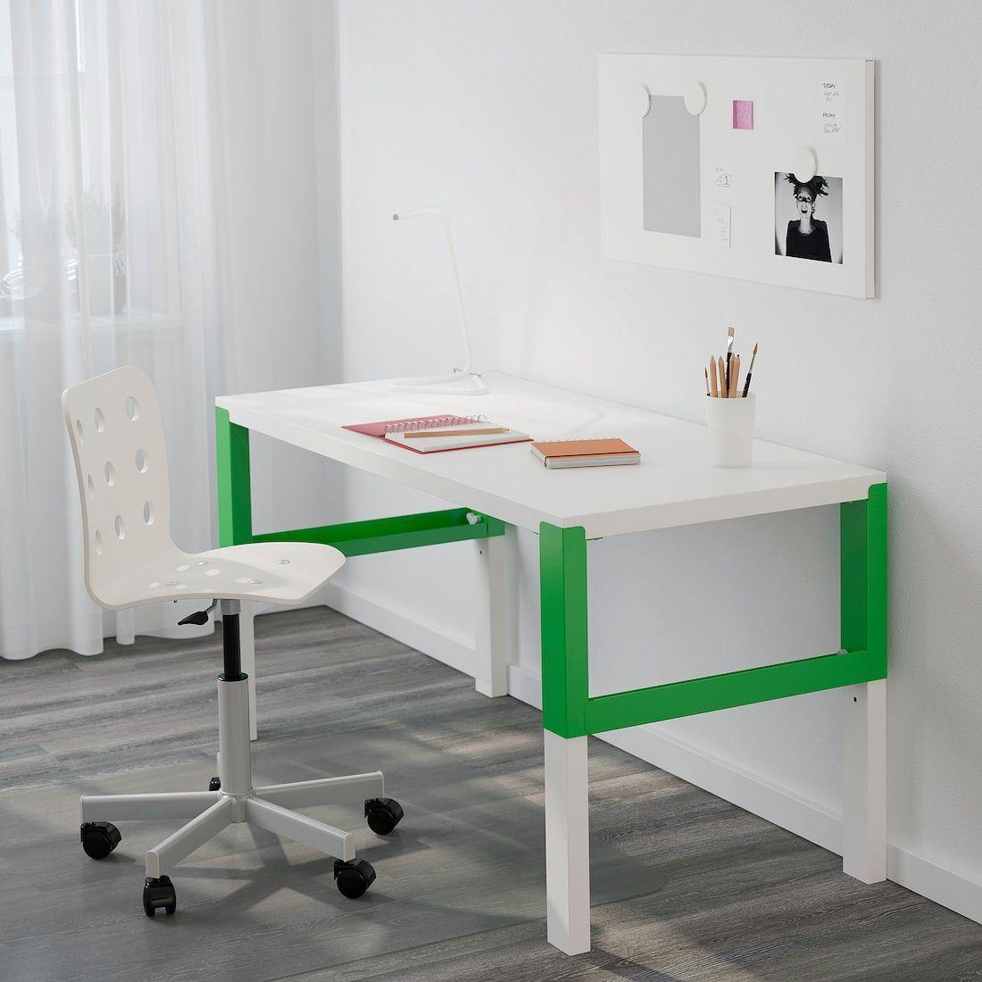 Pahl Schreibtisch Weiss Grun Ikea Deutschland In 2020 Schreibtisch Weiss Schreibtischideen Schreibtisch