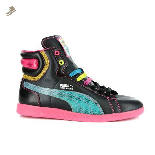 Puma Womens First Round Flipper Cray High Top Black Sneakers 6 5 Us Puma Sneakers For Women Amazon Partne High Top Sneakers Fashion Sneakers Black Sneakers
