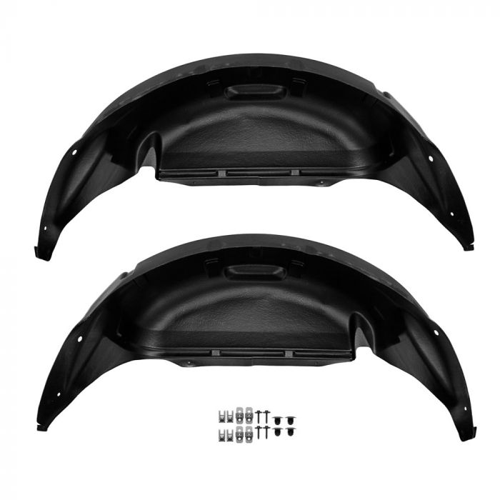 Ford Wheel Well Liners Rear Pair F 150 2015 2020 In 2020 F150 Accessories Ford F150 Ford F150 Accessories