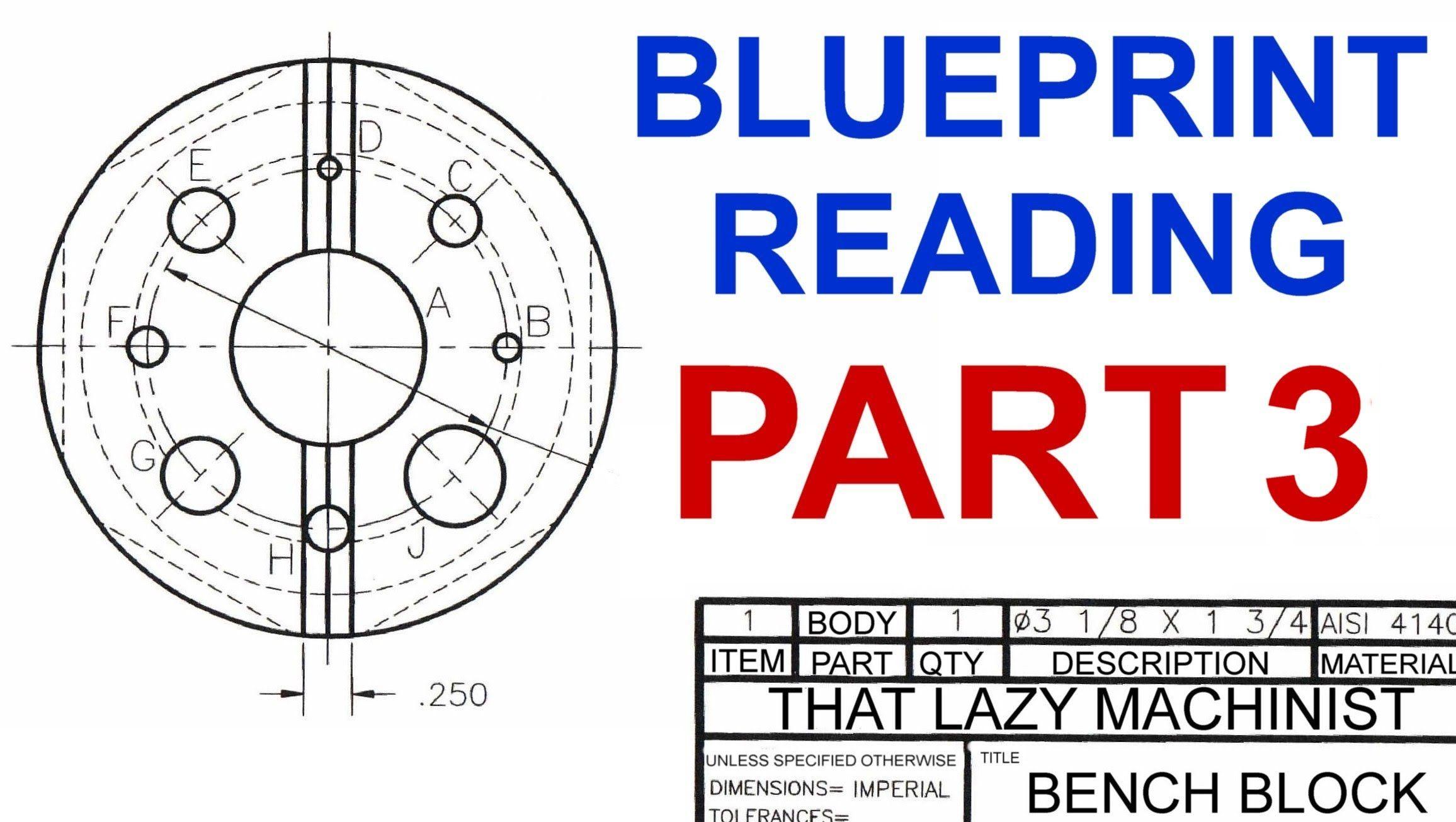 Machine Shop Lesson 4 Blueprint Reading Part 3 Marc Lecuyer Its