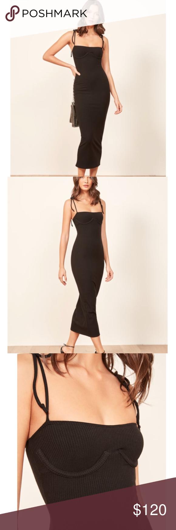Prelude Full Length Black Dress Xl In 2020 Full Length Black Dress Dresses Black Dress [ 1740 x 580 Pixel ]