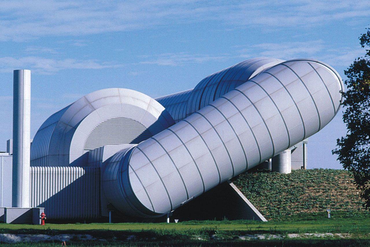 Ferrari Wind Tunnel, Maranello Italy (1996-98) | RPBW : Renzo Piano Building Workshop