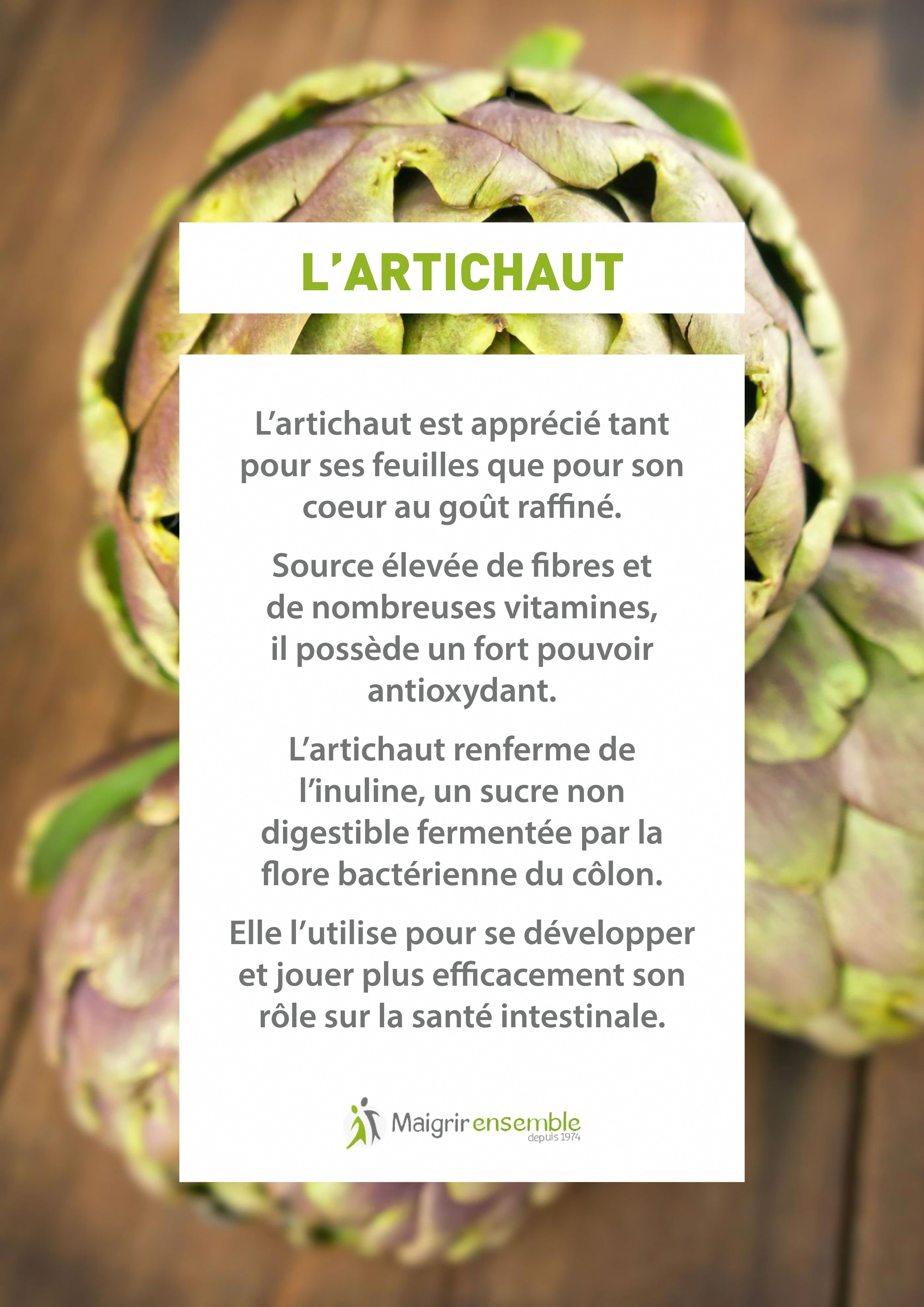 Fruits et Légumes - L'Artichaut// Bienfaits Alimentation ...