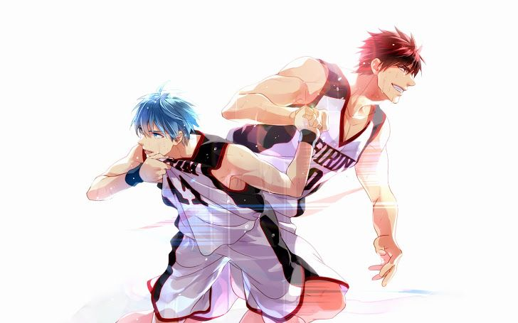 Kuroko Tetsuya Taiga Kagami No Basket The Basketball Which Plays Wallpaper Anime Hd Playing Boys 1440x900 Widescreen A123