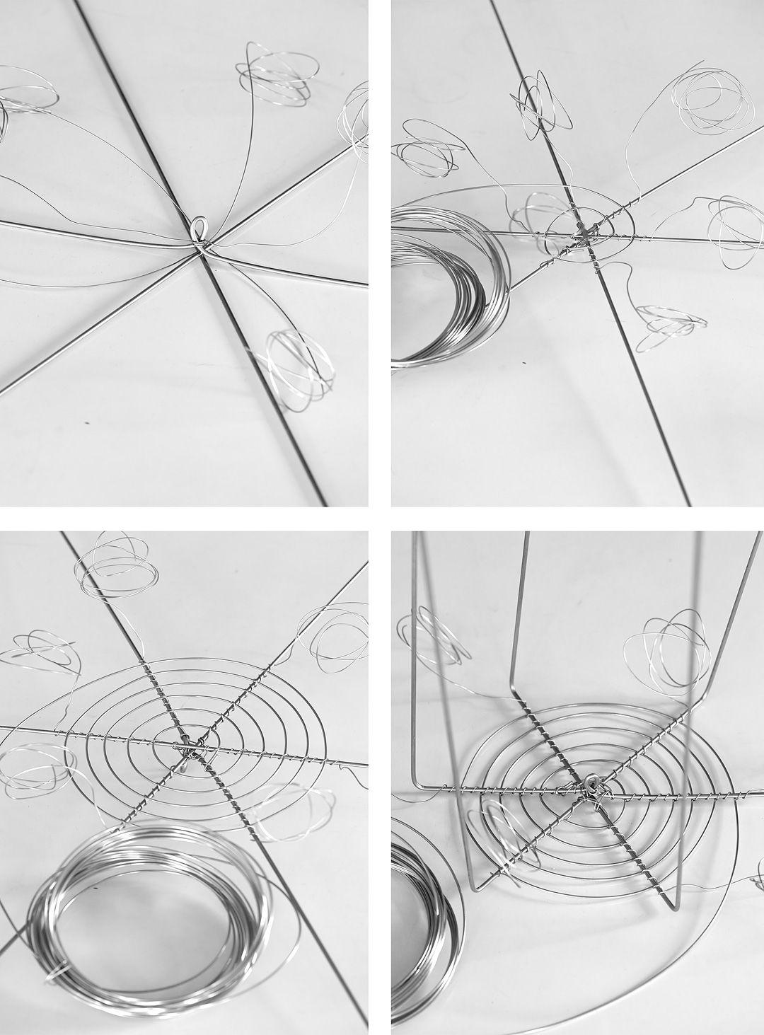 Krok 1-4 © Anna Lefvert   Wire - Metal - Drátkování   Pinterest ...