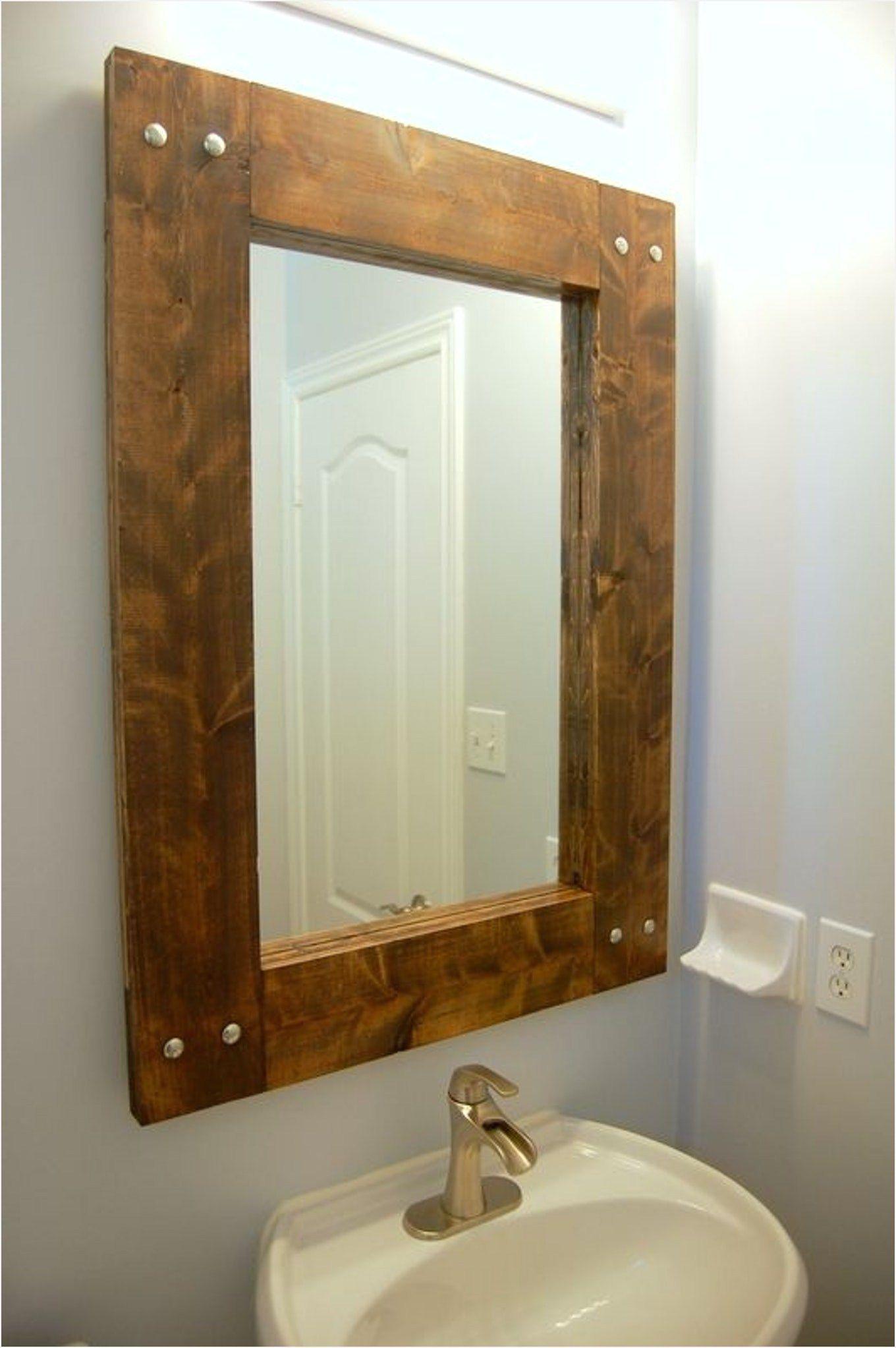 43 Stunning Rustic Bathroom Mirrors Ideas Comedecor Espejos Para Banos Espejos Rusticos Espejos De Pared