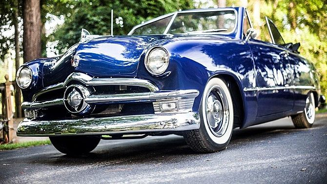 Ford Custom Convertible CI Automatic Presented As Lot K - Kissimmee car show saturday