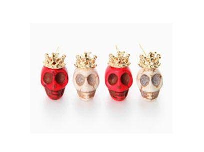Gorgeous Skull Fashion Stud Earrings