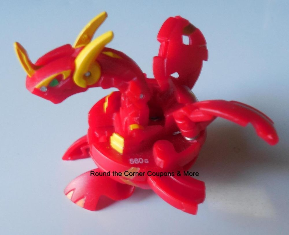 Bakugan Neo Maxus Dragonoid Pyrus Red 560g Battle Brawler