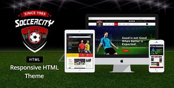Soccer Sports V Soccer Sports HTML Template Blogger Template - Soccer website templates