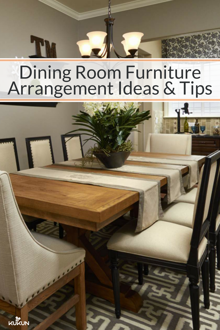 Dining Room Furniture Arrangement Ideas And Tip   Dining room
