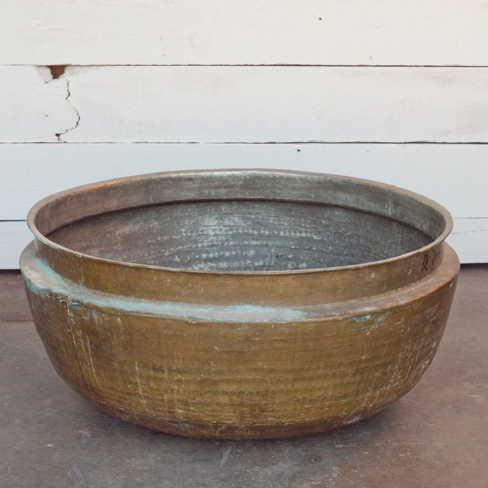 Large Solid Brass Indian Pot Solid brass