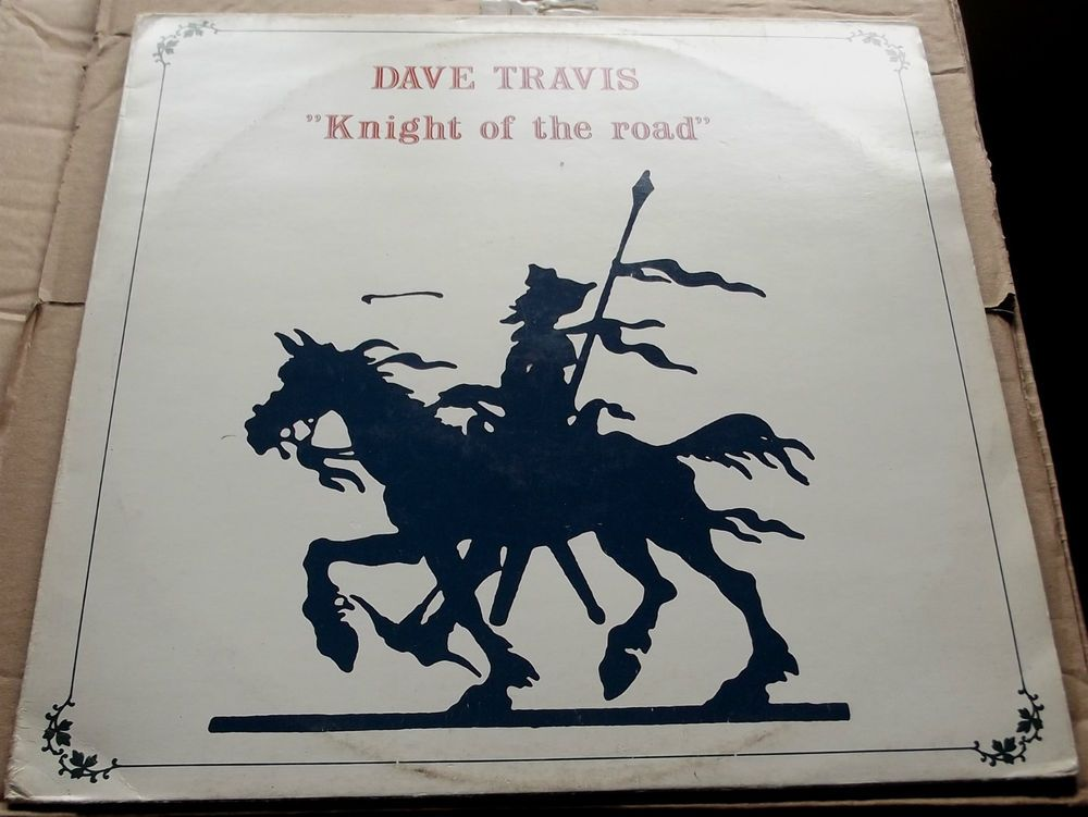 DAVE TRAVIS KNIGHT OF THE ROAD 1976 STOOF MU 7426 - DUTCH PRESSING EXCELLENT+