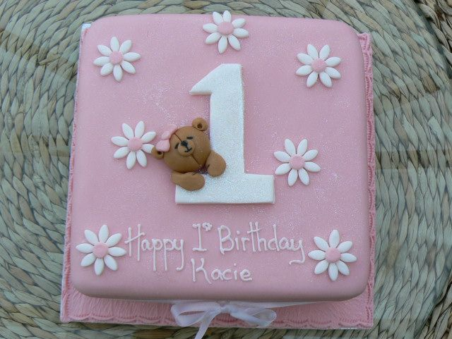 Birthday Cakes For Baby Girl ~ Baby girl first birthday cake 1028 birthday pinterest birthday