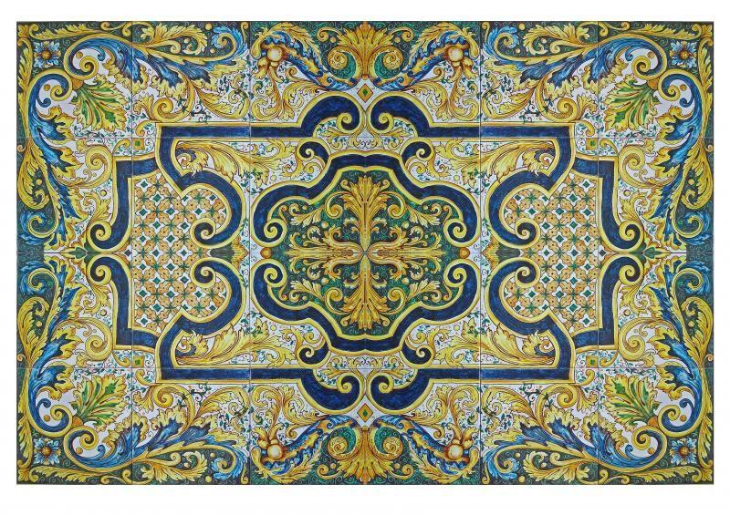 Italian Ceramic Tile Wall Murals Google Search
